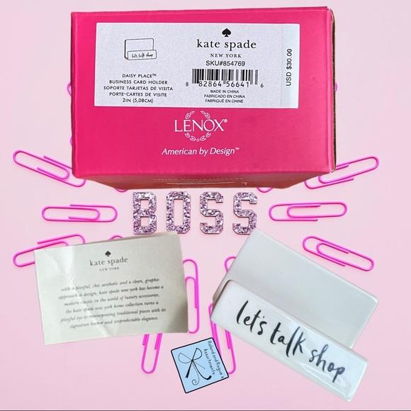 SOLD Kate Spade New York x Lenox Bus Card Holder